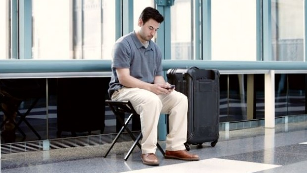 Travellers can now avoid sitting on the airport floor while waiting for a flight.