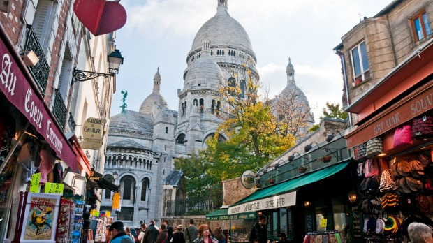 Great memories: Sacre-Coeur at Montmarte.