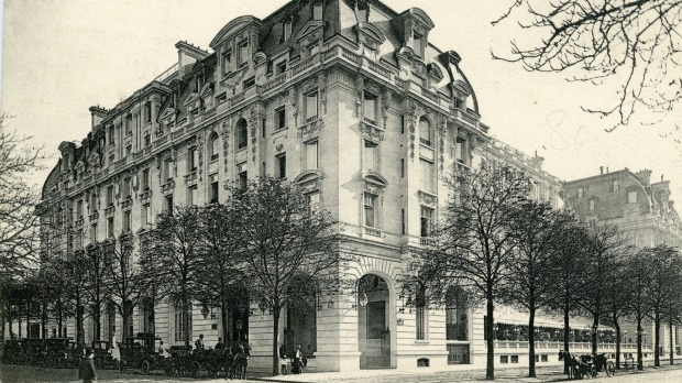 History in the making: The Peninsula Paris.