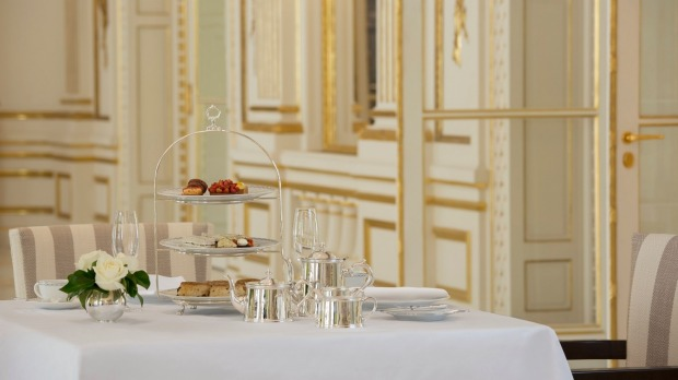 Afternoon delights: The Peninsula Paris.