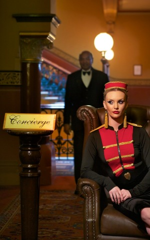 Inside knowledge: A concierge can reveal the secrets of a city. Pictured: The Windsor Hotel.