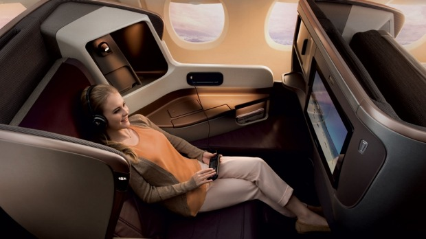 Snugly settled into Singapore Airline'€™s latest business class seat, it's easy to think you're the sole passenger on a ...