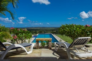 Picture perfect: For a break with family and friends, the stunning location and facilities at the Plantation are hard to ...