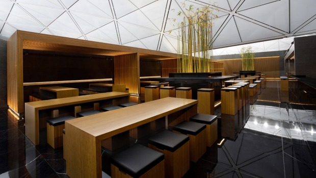 The Wing, Hong Kong: Cathay Pacific's flagship lounge is a firm favourite with travellers for its funky minimalist ...