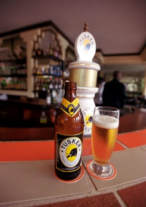 How to drink Tusker the local way: Ask for it to be put in the fridge and then wait for five minutes, no more, no less.