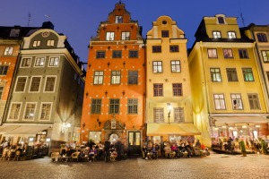 Well-seasoned: Stortorget Square in  the old town in central Stockholm.