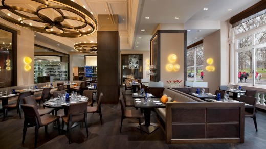 Heston Blumenthal's Dinner by Heston at London's Mandarin Oriental Hyde Park.