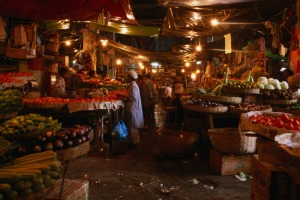 Magical: A Kolkata fruit and vegetable market.