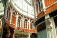 Retail therapy: Cardiff's shopping arcades will help lighten the wallet.