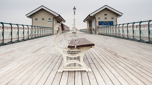 Historic: A walk along Penarth Pier is like travelling back in time.