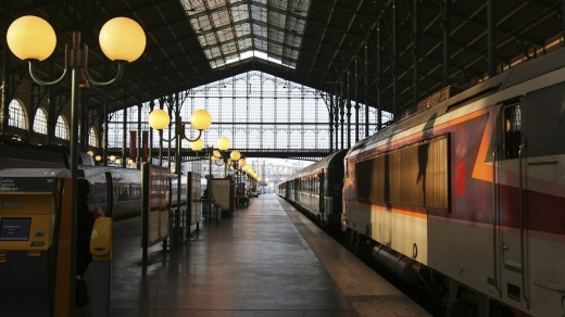 Architectural wonder: The Gare de Nord in Paris is opulent and charming.