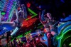Dancers dressed as futuristic characters perform during a show at The Robot Restaurant in Tokyo, Japan. The now famous ...