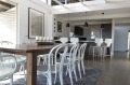 The light and airy interior of Mio Monte, Hunter Valley