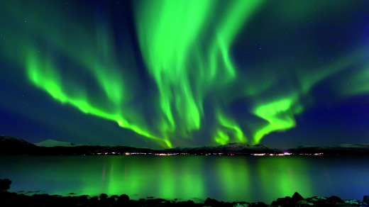 Set sail: The Northern Lights are on the cruise itinerary for 2015.