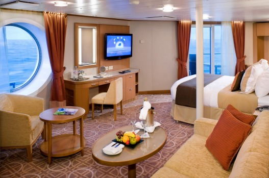 Comfort: A suite on the Celebrity Solstice.