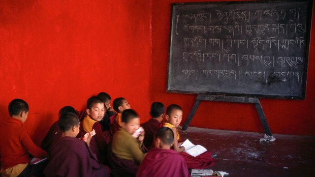 Enchey Monastery, Sikkim: 'It reminded me that learning can happen anywhere, no fancy desks, classrooms or computers ...