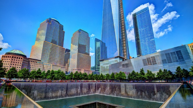 The September 11 Memorial and Museum.