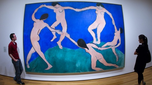 <i>Dance (I)</i> by Henri Matisse at MOMA (Museum of Modern Art).
