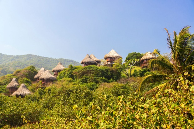 Pueblito, Colombia: This trail begins in the foothills of the world's highest coastal mountain range and heads through ...