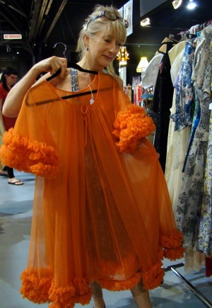 Tangerine dream: Choosing something a little bit Doris Day.