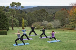 Lean in: Yoga with a view at Solar Springs Retreat in NSW's Southern Highlands.