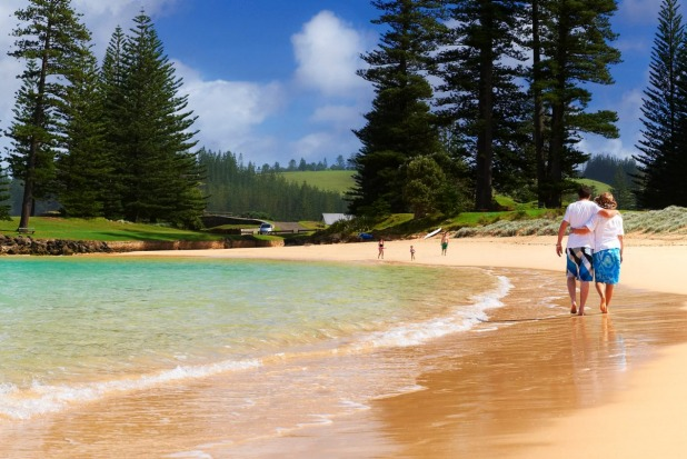 Norfolk Island. With its towering cliffs, tranquil lagoons, soaring tree ferns and pines, this South Pacific island's ...