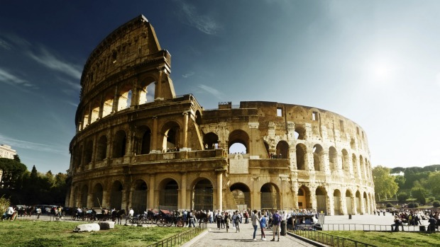 The Colosseum: Not so much a classical monument as an opportunity to learn.