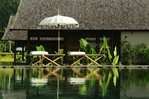 Serenity reigns: Sanak Retreat in Bali is peaceful and serene, a million miles away from the tourist resorts.