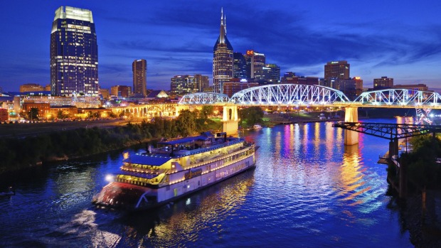 Nashville, USA: Country music is king here but these days the Mississippi port town is also acquiring a reputation for ...
