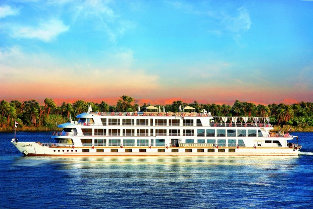 Edfu, Egypt: Sun Boat IV Ship cruises in Egypt.