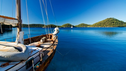 Anchors away: Sail the unspoilt waters of Croatia on your 70th birthday.