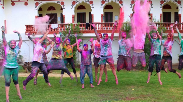 Celebrate your 20th with colourful ravers  in Rajasthan.