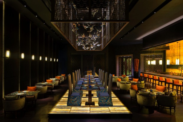 Fine dinning: The Yuan Chinese restaurant at The Palm Atlantis in Dubai.