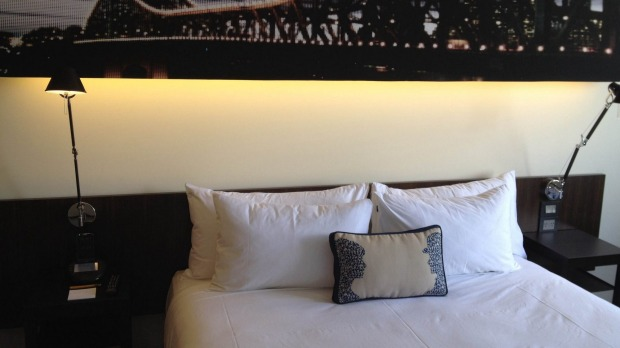 On the pulse: A fun hotel, with some of the most modern gadgets on the market.