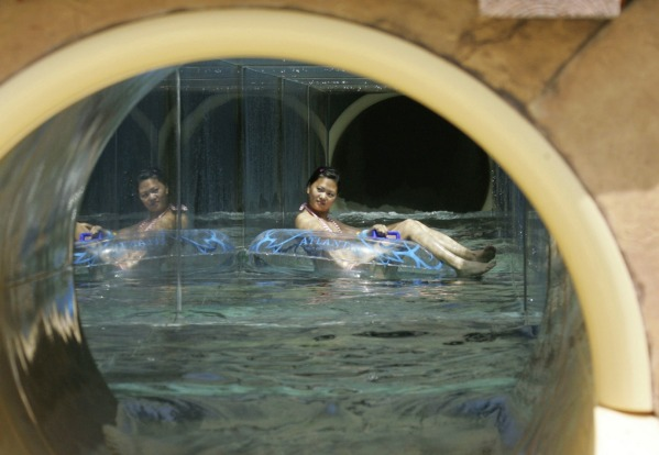 """Aquaventure"", a water playground of over 18 million litres of water, is accessible to visitors for prices ranging from ..."