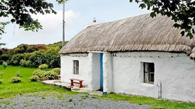 PORTSALON COTTAGE, COUNTY DONEGAL: The real deal – thatched, detached, and completely secluded on the Fanad Peninsula ...