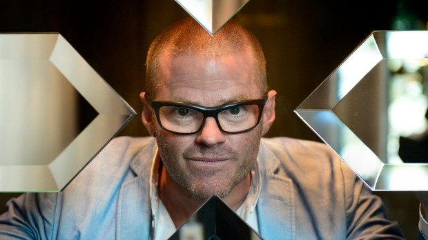 Guest: Heston Blumenthal has joined the guest list at Tourism Australia's Restaurant Australia gala dinner in Tasmania.