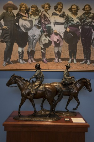 Fort Worth, Texas, USA: Cowgirl museum shows the west like