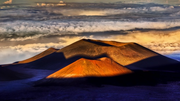 This photo represents my lifelong dream to stand at the summit of Mauna Kea, Hawaii amongst the surreal volcanic ...