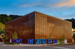 Aspen Art Museum by architect Shigeru Ban.