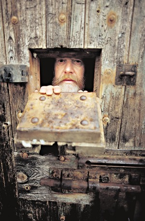 Ned Kelly's old cell in Beechworth.