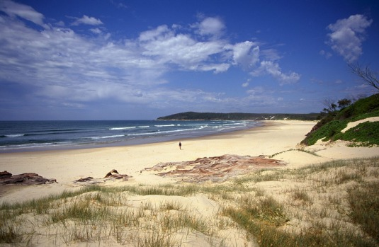 Angourie Beach, Yuraygir National Park, Yamba.