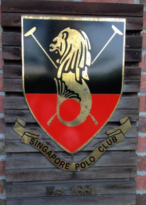 Colonial charm: The Singapore Polo Club was set up in 1886 by members of the King's Own Regiment.