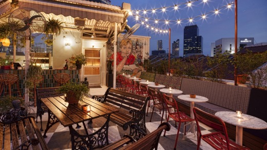 High lights: The Rooftop Garden at Potato Head Folk.
