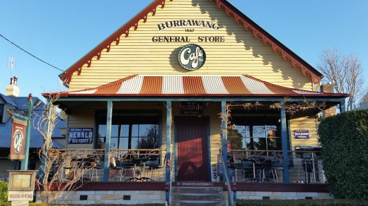 Back blocks: The Burrawang General Store.