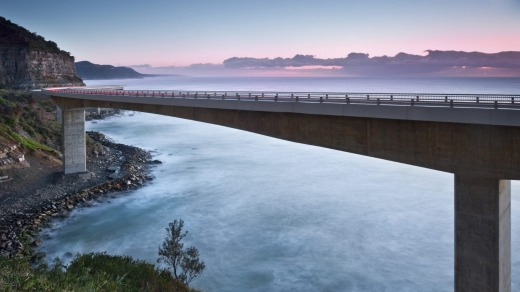 Beautiful: The Sea Cliff Bridge.