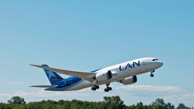 LAN will be the first airline to use two-engine aircraft for the Sydney-South America route.