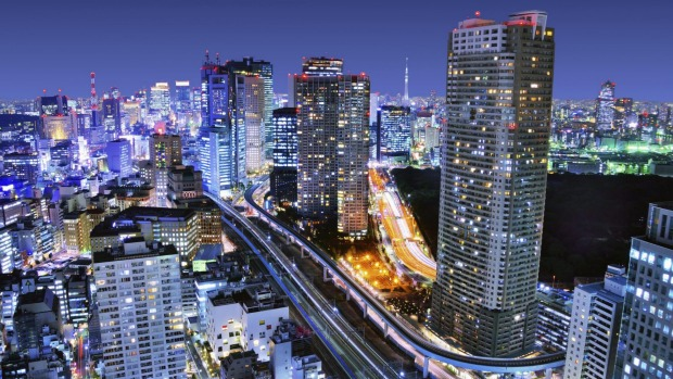"""World's 25 most liveable city: Tokyo offers a """"concurrent feeling of peace and quiet""""."""