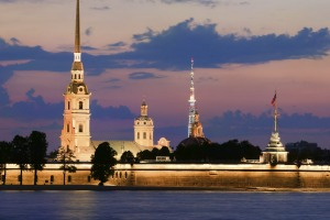 Peter and Paul fortress, St Petersburg.