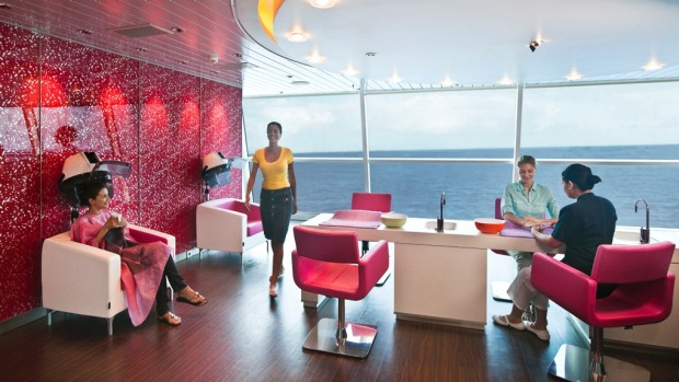 Celebrity Cruise Ships Century V Solstice Review - Working as a hairdresser on a cruise ship